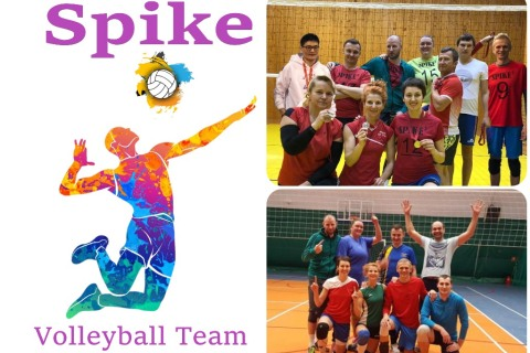 Заставка для - Spike Volleyball Team